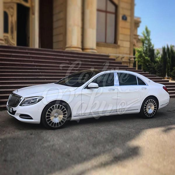 Mercedes S-class (2016) / Rental cars in Baku, Azerbaijan / Kirayə maşınlar / Авто на прокат в Баку, Азербайджан 14.09.2019
