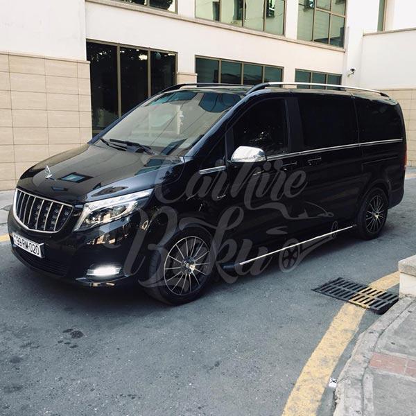 Mercedes V-class (2018) / Rental cars in Baku, Azerbaijan / Kirayə maşınlar / Авто на прокат в Баку, Азербайджан 14.09.2019