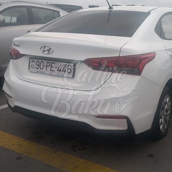 Hyundai Accent (2019) / Rental cars in Baku, Azerbaijan / Kirayə maşınlar / Авто на прокат в Баку, Азербайджан 29.11.2019