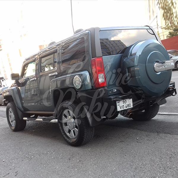 Hummer H3 (2010) / Rental cars in Baku, Azerbaijan / Kirayə maşınlar / Авто на прокат в Баку, Азербайджан 02.12.2019