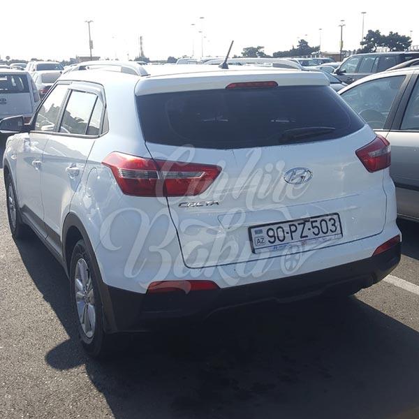 Hyundai Creta (2019) / Rental cars in Baku, Azerbaijan / Kirayə maşınlar / Авто на прокат в Баку, Азербайджан 03.12.2019