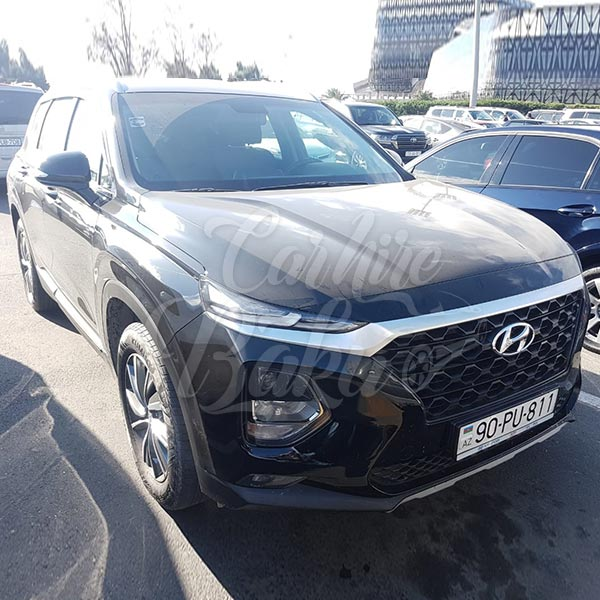 Hyundai Santa Fe (2019) / Rental cars in Baku, Azerbaijan / Kirayə maşınlar / Авто на прокат в Баку, Азербайджан 10.12.2019