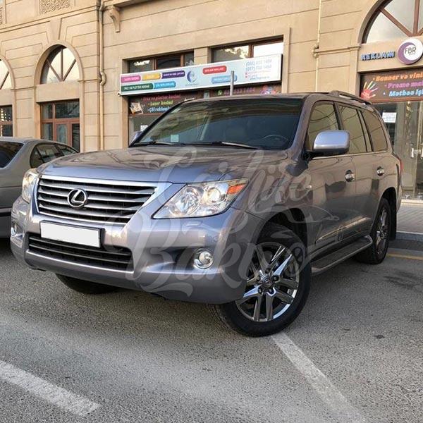 Lexus LX570 (2014) / Rental cars in Baku, Azerbaijan / Kirayə maşınlar / Авто на прокат в Баку, Азербайджан 18.12.2019
