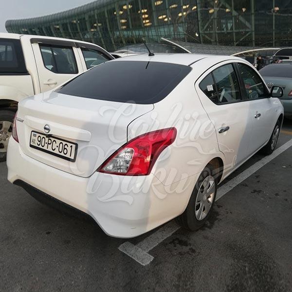 NIssan Sunny (2019) / Rental cars in Baku, Azerbaijan / Kirayə maşınlar / Авто на прокат в Баку, Азербайджан 16.12.2019
