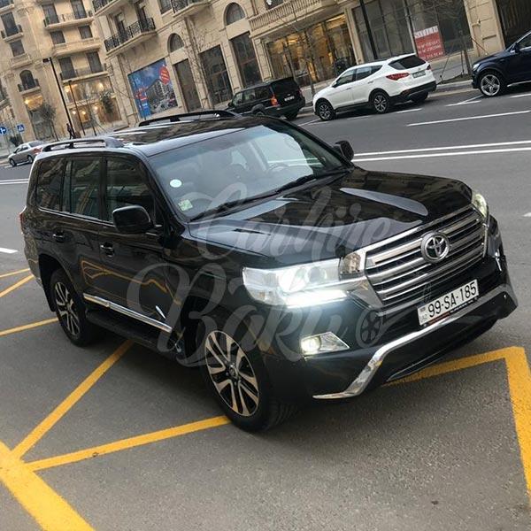 Toyota Land Cruiser (2018) / Rental cars in Baku, Azerbaijan / Kirayə maşınlar / Авто на прокат в Баку, Азербайджан 17.12.2019