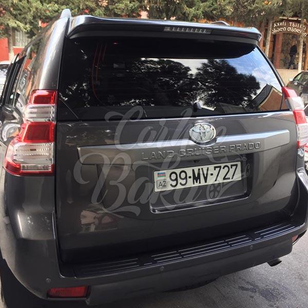 Toyota Prado (2015) / Rental cars in Baku, Azerbaijan / Kirayə maşınlar / Авто на прокат в Баку, Азербайджан 27.12.2019