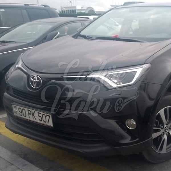 Toyota RAV4 (2017) / Rental cars in Baku, Azerbaijan / Kirayə maşınlar / Авто на прокат в Баку, Азербайджан 08.12.2019