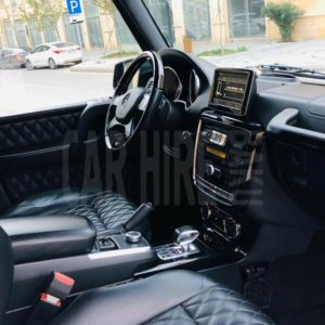 Mercedes-Benz G63 AMG (2015) / Rental Cars In Baku, Azerbaijan / Kirayə Maşınlar / Авто на прокат в Баку, Азербайджан 16.01.2020