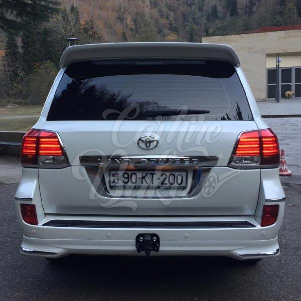 Toyota Land Cruiser (2013) / Rental cars in Baku, Azerbaijan / Kirayə maşınlar / Авто на прокат в Баку, Азербайджан 03.01.2020