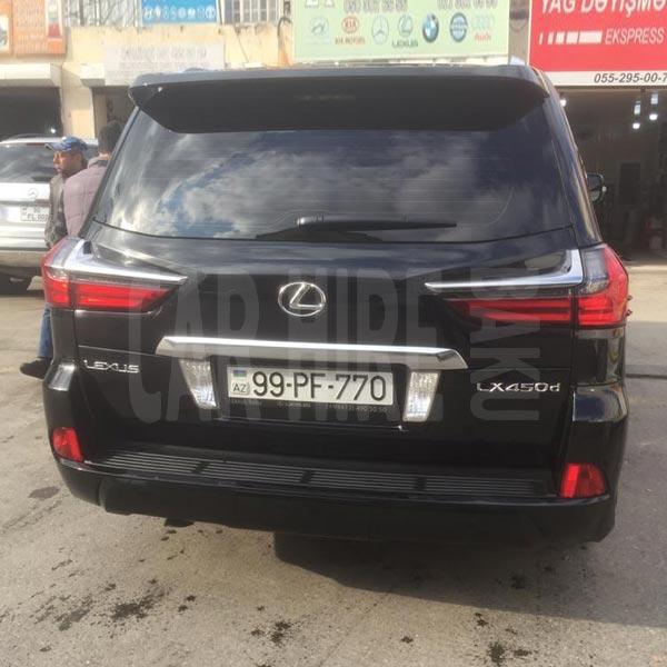 Lexus LX450 (2018) / Rental cars in Baku, Azerbaijan / Kirayə maşınlar / Авто на прокат в Баку, Азербайджан 28.01.2020
