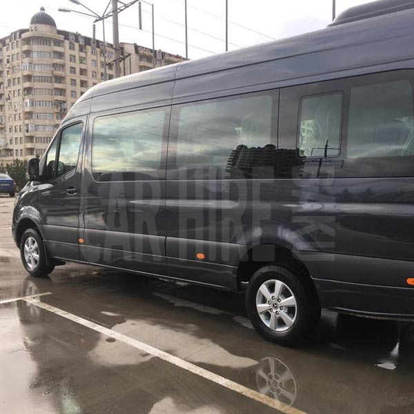 Mercedes-Benz Sprinter Tourer (2019) / Rental cars in Baku, Azerbaijan / Kirayə maşınlar / Авто на прокат в Баку, Азербайджан 19.01.2020