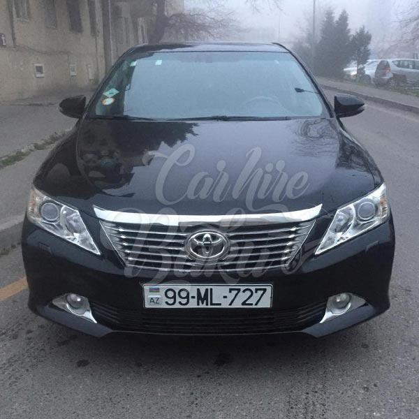 Toyota Camry (2015) / Rental cars in Baku, Azerbaijan / Kirayə maşınlar / Авто на прокат в Баку, Азербайджан 08.01.2020