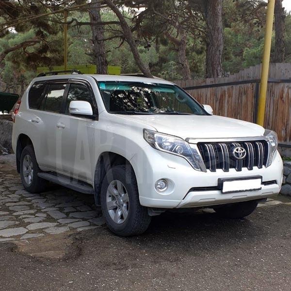 Toyota Prado (2019) / Rental cars in Baku, Azerbaijan / Kirayə maşınlar / Авто на прокат в Баку, Азербайджан 24.01.2020