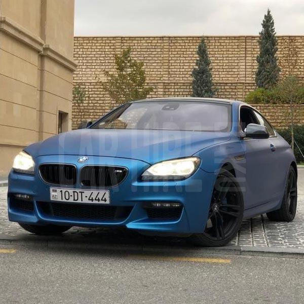 BMW 6-series (2020) / Rental cars in Baku, Azerbaijan / Kirayə maşınlar / Авто на прокат в Баку, Азербайджан 21.02.2020