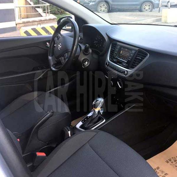 Hyundai Accent (2019) / Rental cars in Baku, Azerbaijan / Kirayə maşınlar / Авто на прокат в Баку, Азербайджан 10.02.2020