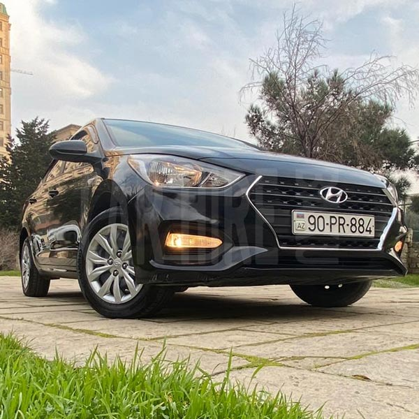 Hyundai Accent (2019) / Rental cars in Baku, Azerbaijan / Kirayə maşınlar / Авто на прокат в Баку, Азербайджан 08.02.2020