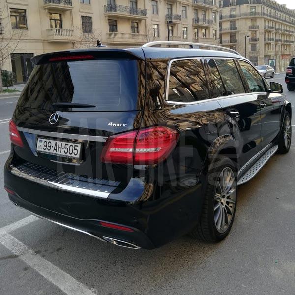 Mercedes-Benz GLS (2019) / Rental cars in Baku, Azerbaijan / Kirayə maşınlar / Авто на прокат в Баку, Азербайджан 04.03.2020