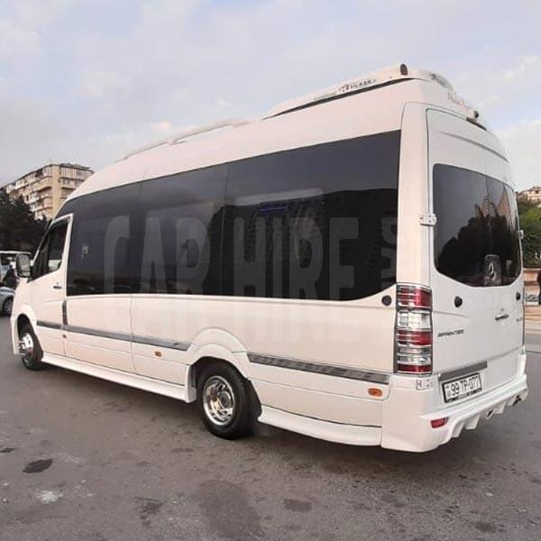 Mercedes Sprinter (2016) / Rental cars in Baku, Azerbaijan / Kirayə maşınlar / Авто на прокат в Баку, Азербайджан 10.04.2020