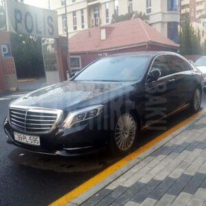 Mercedes S-class (2017) / Rental cars in Baku, Azerbaijan / Kirayə maşınlar / Авто на прокат в Баку, Азербайджан 17.09.2020